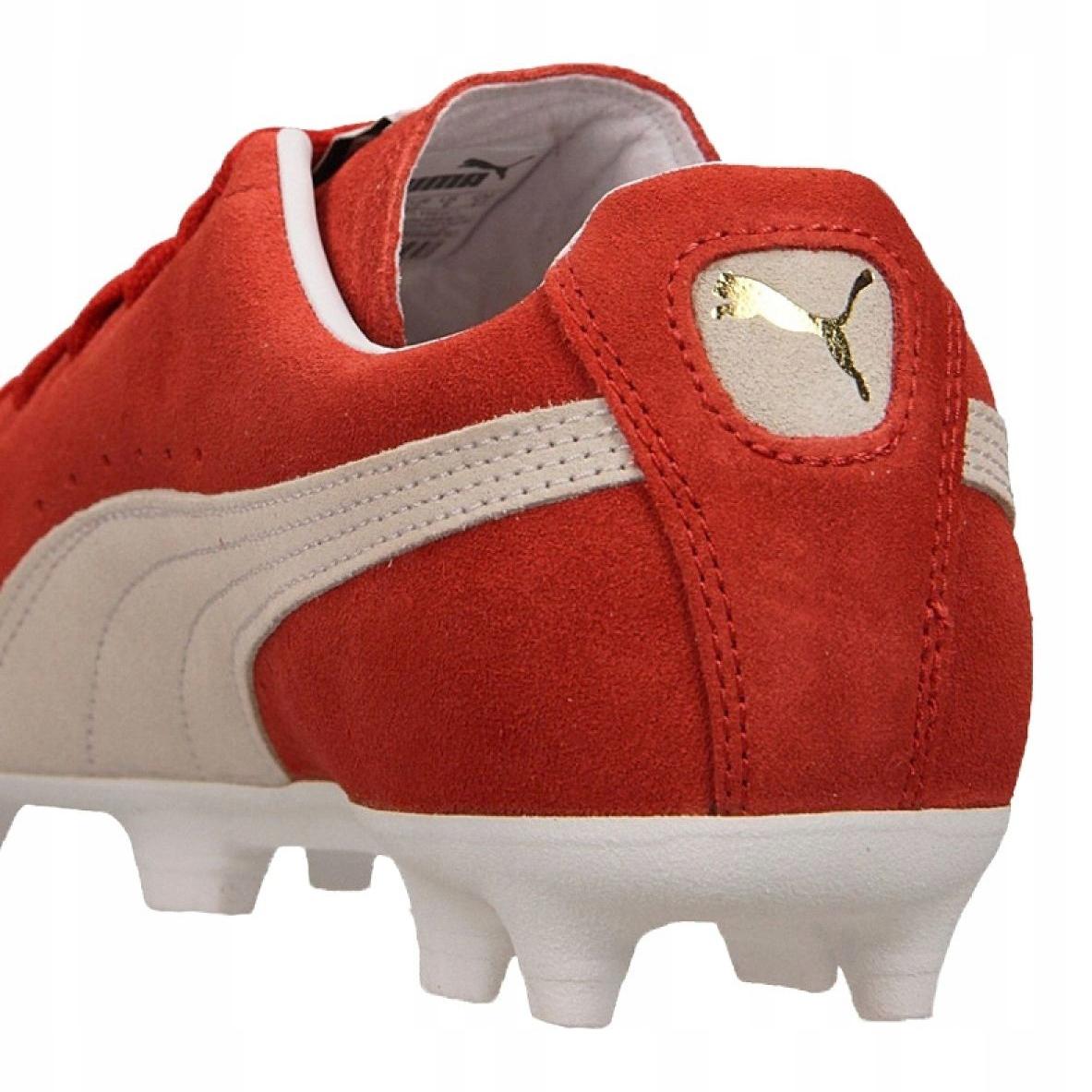 Buty Puma Future Suede 50 M 104614 02 czerwone pomaraczowy