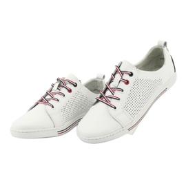 Buty skórzane trampki FILIPPO DP008 3