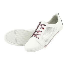 Buty skórzane trampki FILIPPO DP008 5