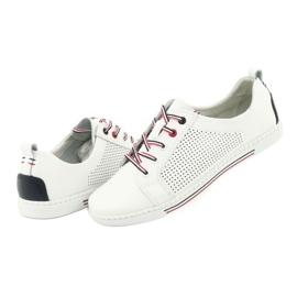 Buty skórzane trampki FILIPPO DP008 4