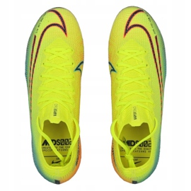 Buty piłkarskie Nike Mercurial Vapor 13 Elite Mds Fg M CJ1295-703 żółte wielokolorowe 1