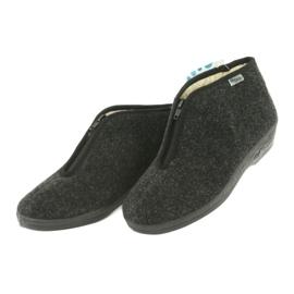 Befado obuwie damskie pu 041D052 szare 3