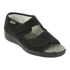 Befado obuwie męskie 070M001 czarne 2