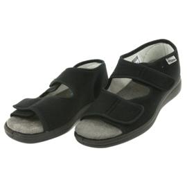 Befado obuwie męskie 070M001 czarne 4