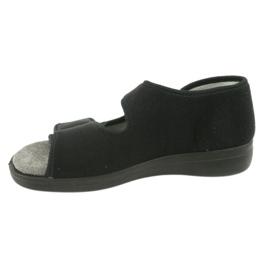 Befado obuwie męskie 070M001 czarne 3