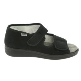Befado obuwie męskie 070M001 czarne 1