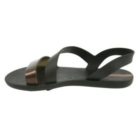 Sandały do wody Ipanema 82429 czarne brązowe 2