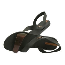 Sandały do wody Ipanema 82429 czarne brązowe 4