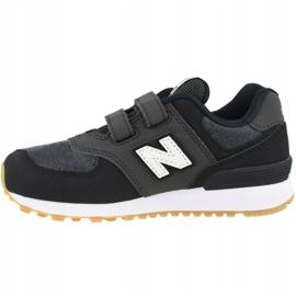 Buty New Balance Jr YV574DMK czarne 1