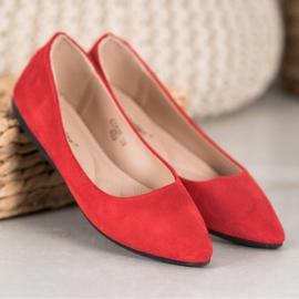 Seastar Casualowe Baleriny czerwone 3