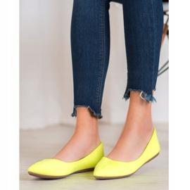 Seastar Neonowe Balerinki żółte 1