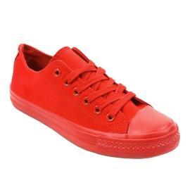 Czerwone klasyczne trampki męskie MC1-A5 1