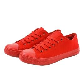 Czerwone klasyczne trampki męskie MC1-A5 2