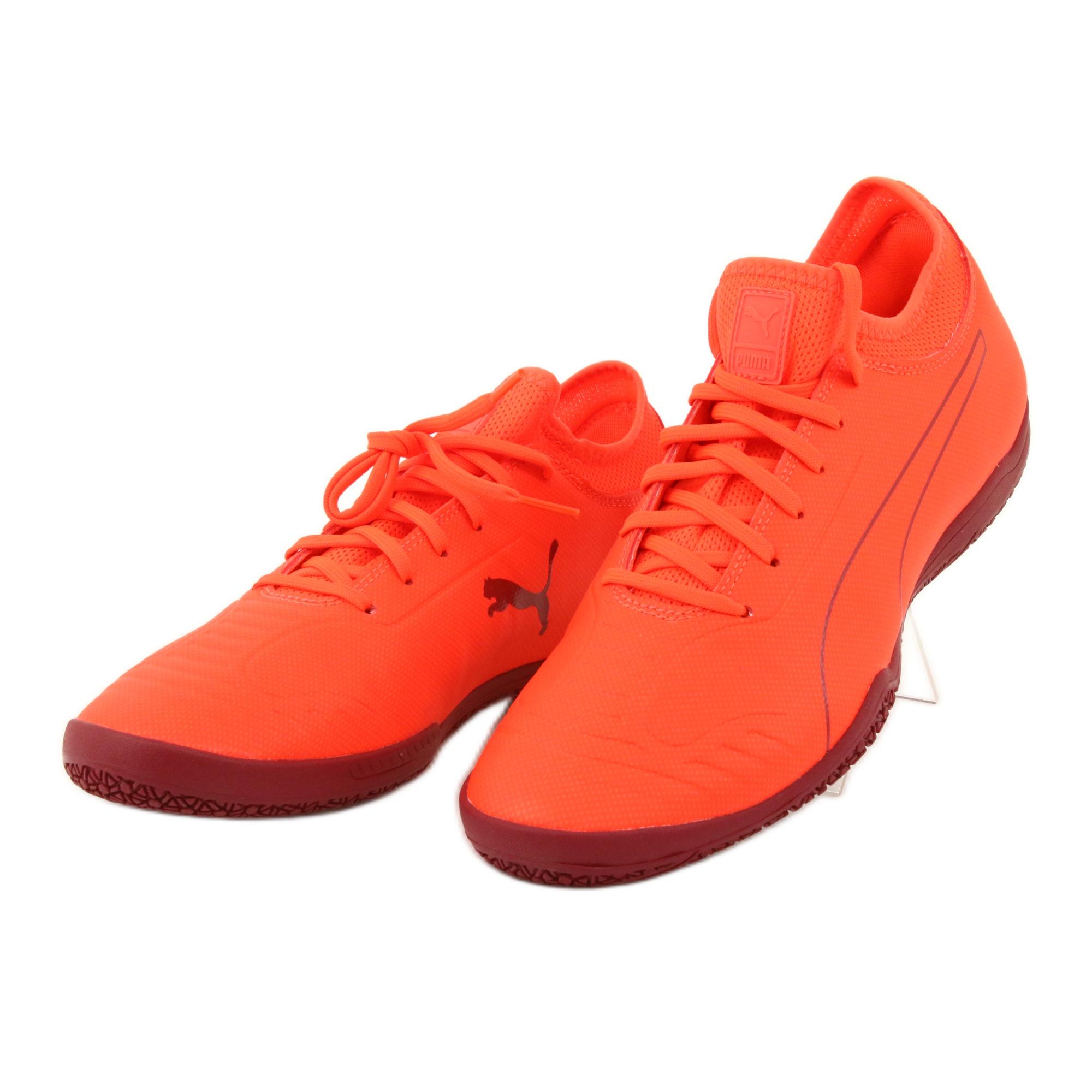 Buty halowe Puma 365 Sala 2 M 105758 02 pomaraczowe