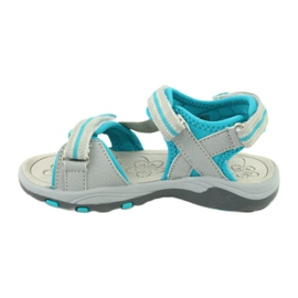 Sandałki piankowa wkładka KangaRoos 18335 szare 2