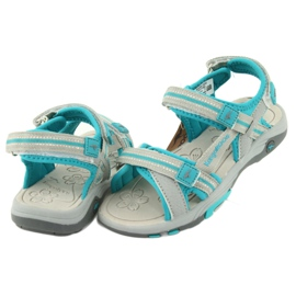 Sandałki piankowa wkładka KangaRoos 18335 szare 4