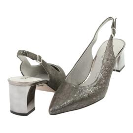 Sandały damskie na słupku Caprice 29605 4