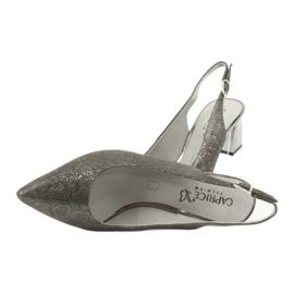 Sandały damskie na słupku Caprice 29605 5