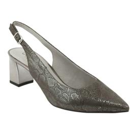 Sandały damskie na słupku Caprice 29605 1