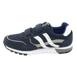 Granatowe Buty Sportowe chłopięce American Club ES02 2