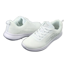 Białe Buty Sportowe American Club HA02 4