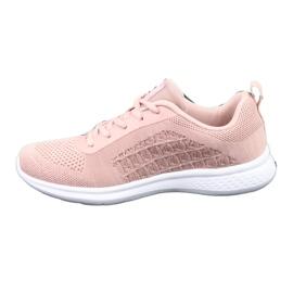 Różowe Buty Sportowe American Club HA02 1