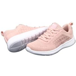 Różowe Buty Sportowe American Club HA02 3