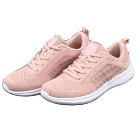 Różowe Buty Sportowe American Club HA02 2