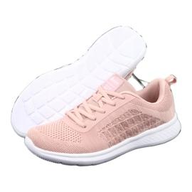 Różowe Buty Sportowe American Club HA02 4