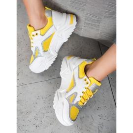 Seastar Modne Sneakersy Z Brokatem 3