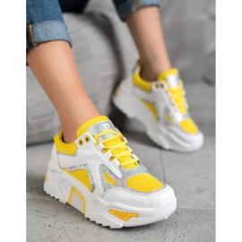 Seastar Modne Sneakersy Z Brokatem 2