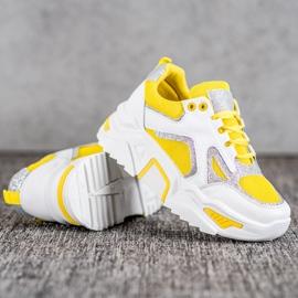 Seastar Modne Sneakersy Z Brokatem 4