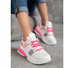 Seastar Kolorowe Sneakersy Z Siateczką 2