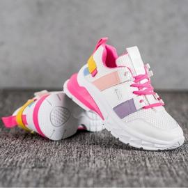 Seastar Kolorowe Sneakersy Z Siateczką 1