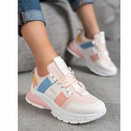 Seastar Kolorowe Sneakersy Z Siateczką 3