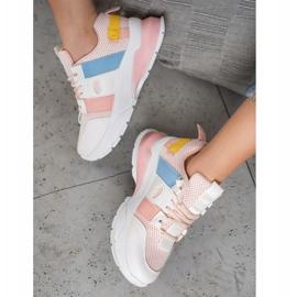 Seastar Kolorowe Sneakersy Z Siateczką 4