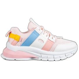 Seastar Kolorowe Sneakersy Z Siateczką 5