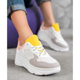 SHELOVET Casualowe Sneakersy Z Eko Skóry 1