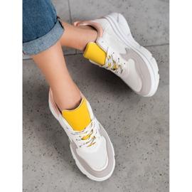 SHELOVET Casualowe Sneakersy Z Eko Skóry 2