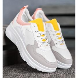 SHELOVET Casualowe Sneakersy Z Eko Skóry 3