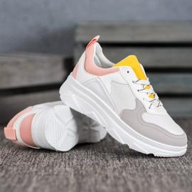 SHELOVET Casualowe Sneakersy Z Eko Skóry 4