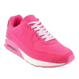 Różowe obuwie sportowe B390-3 1