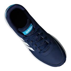 Buty adidas Vs Switch 2 Jr G26871 niebieskie 3
