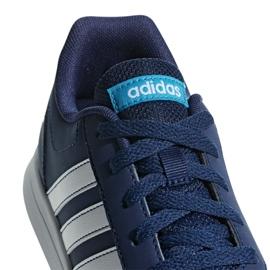 Buty adidas Vs Switch 2 Jr G26871 niebieskie 4