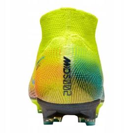 Buty Nike Superfly 7 Elite Mds AG-Pro M CK0012-703 żółte wielokolorowe 2