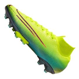 Buty Nike Superfly 7 Elite Mds AG-Pro M CK0012-703 żółte wielokolorowe 5