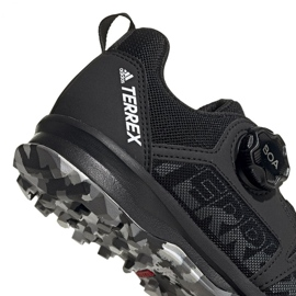 Buty adidas Terrex Agravic Boa K Jr EF3635 czarne 4