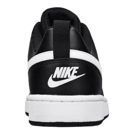 Buty Nike Court Borough Low 2 (GS) Jr BQ5448-002 czarne 3