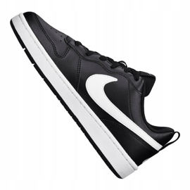 Buty Nike Court Borough Low 2 (GS) Jr BQ5448-002 czarne 4