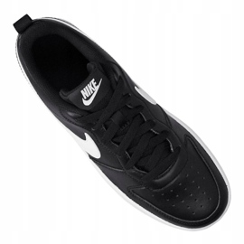 Buty Nike Court Borough Low 2 (GS) Jr BQ5448-002 czarne 5